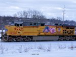 UP 6029 lead unit on the 3rd EOG sand train from Norma WI